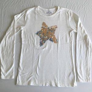 Girls' (yes) Shining Star long-sleeved shirt